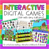 Digital Classroom Games Interactive Activities for 1st-4th