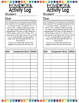 Interactive Digital Homework Activity Sheet (Editable)