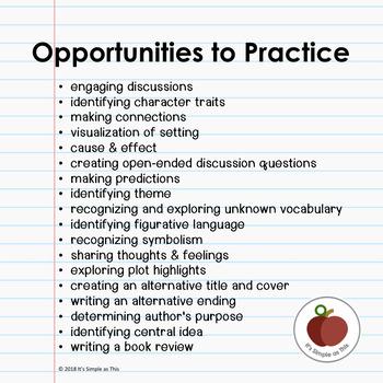 Interactive Digital Novel Study Notebook - Google Drive - Guided Reading
