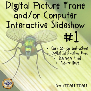 Interactive Digital Picture Frame Slideshow #1