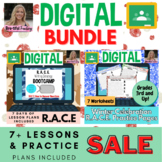Interactive Digital Writing R.A.C.E Lesson Plans & Winter Practice Pages!