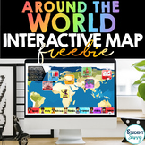 Interactive Digital World Maps FREE   for Around the World