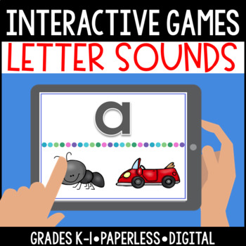 Interactive, Digital and Paperless Letter Sound Games