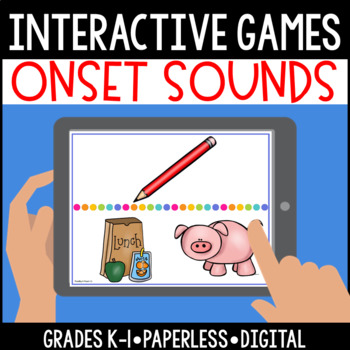 Interactive, Digital and Paperless Onset (Beginning) Sounds Games
