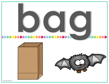 Interactive, Digital and Paperless Short Vowel CVC Word Reading Games