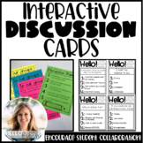 Interactive Discussion Cards Bundle