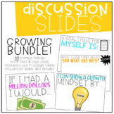 Interactive Discussion Slides | Starters | Writing Prompts