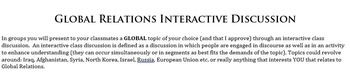 Interactive Discussion Template