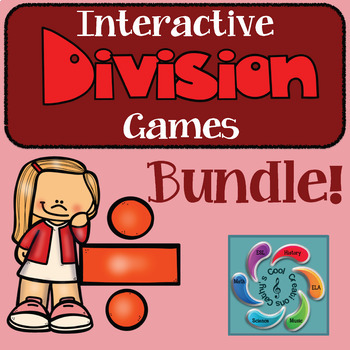 Interactive Division Game Mega Bundle!! -distance learning
