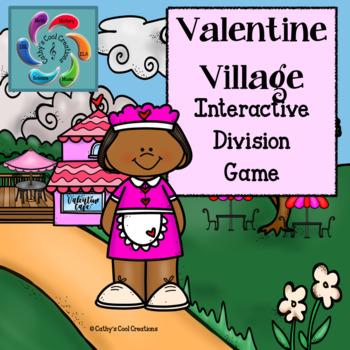 Interactive Division Game- Valentine Village