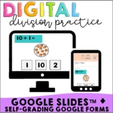 Interactive Division Google Slides™ + Google Forms™ | Self