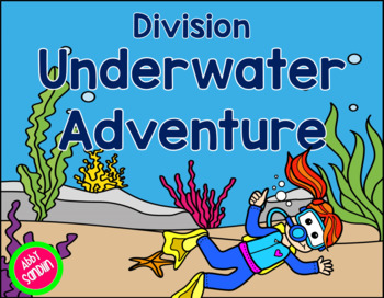Interactive Division Underwater Adventure {FREE Sample in Preview}