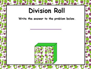 Interactive Divison Roll
