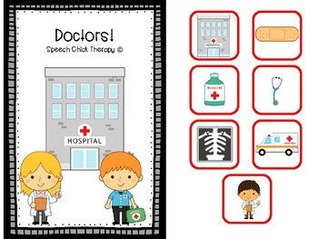 Interactive Doctor Activity Set