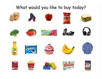 Interactive Dollar Up Shopping
