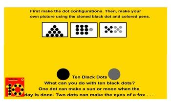 Interactive Dot Configuration:Wheel of Configuration, Bowling, Dotzee, Twister!