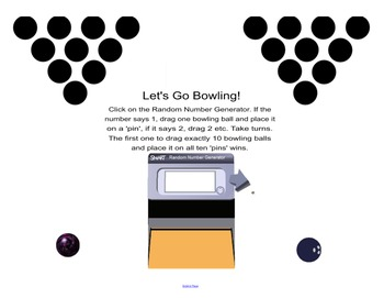 Interactive Dot Configuration:Wheel of Configuration, Bowling, Dotzee, Twister!