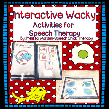 Interactive Dr Seuss Inspired Activities for Speech Therapy
