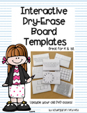 Interactive Dry-Erase Board Templates