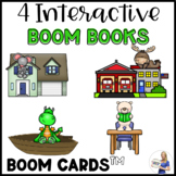 Interactive E-Books & Games: Spatial Concepts, Community Helpers, & Vehicles