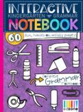 Kindergarten Interactive Notebook: Grammar & Language Arts