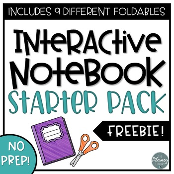 Interactive ELA Notebook Kit