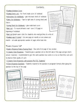 Interactive ELA Notebooks Packet