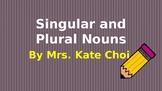 Interactive ELA: Singular and Plural Nouns