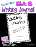 Interactive ELA & Writing Journal