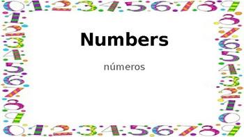 Interactive ESL Numbers Activities