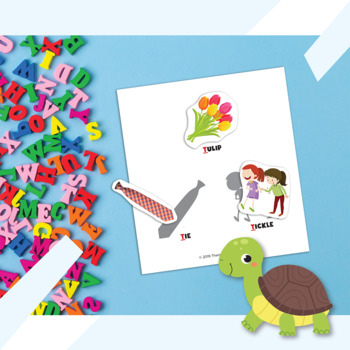 Interactive Early Articulation Book: Initial /d/ and /t/