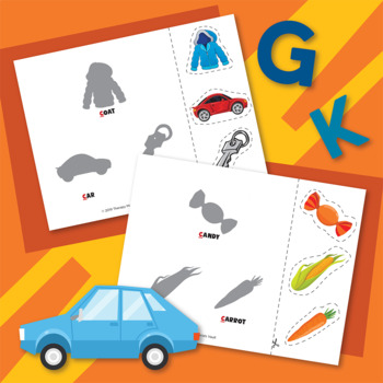 Interactive Early Articulation Book: Initial /k/ and /g/