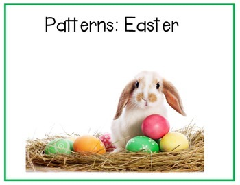 Interactive Easter Pattern Book
