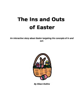 Interactive Easter Story Teaching In and Out