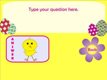 Interactive Easter/Spring SMARTBoard Review Game