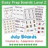 Interactive Easy Prep Boards Level 2: June Set