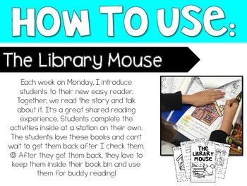 Interactive Easy Reader: The Library Mouse