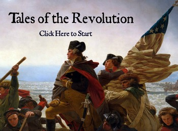 """Interactive eBook - The American Revolution - """"Tales of th"""