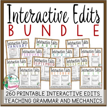 Interactive Edits Bundle