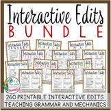 Interactive Edits Bundle