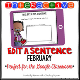 Interactive Edit a Sentence February