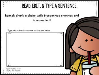 Interactive Edit a Sentence February