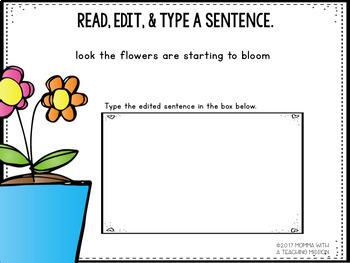 Interactive Edit a Sentence March