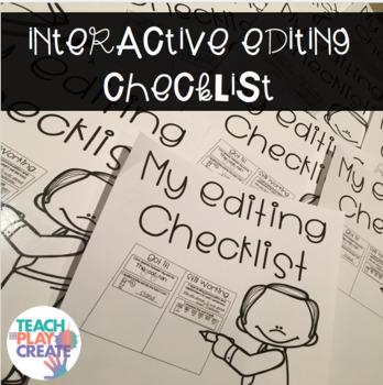 Interactive Editing Checklist