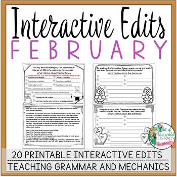Interactive Edits: February