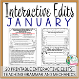 Interactive Edits: January