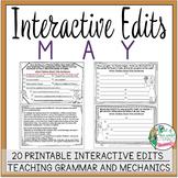 Interactive Edits: May
