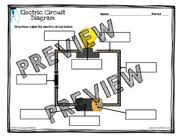 Electricity - Electric Circuit Diagram - Interactive