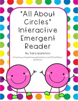 Emergent Easy Interactive Reader Book: Shapes: Circle