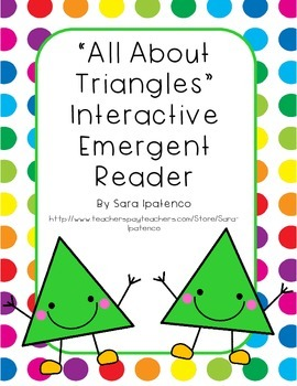 Emergent Easy Interactive Reader Book: Shapes: Triangle